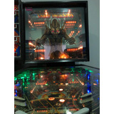 Flipper Pinball Space Invaders Impecable - Clarck Argentina