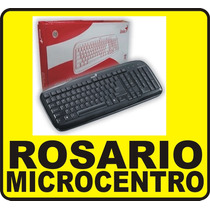 Teclado Genius Slimstar 110 Ps2 Black Rosario Local