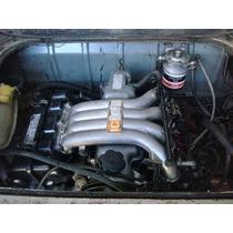 Motor Toyota Diesel En Funcionamiento Adaptado A Kombi Vw