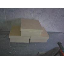 Cajita De 8x8x4 De Fibrofacil X 10 Unidades