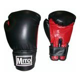 Guante De Boxeo Mito Cuero Sintético Poliuretano Pvc 8-16oz