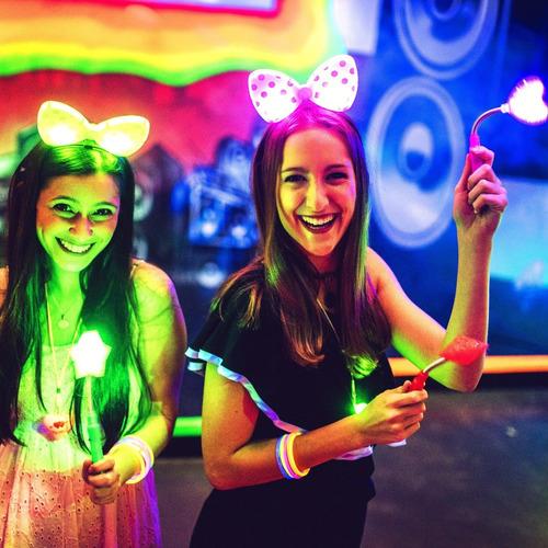 Top 100 Art. Combo Cotillon Luminoso Led Neon Fluo Carioca !