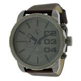641f5f7f4b54 Reloj Diesel Para Hombre Dz4210 Con Correa De Cuero Café Y