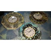 Reloj De Pared De Pasta Piedra