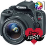 Canon Eos Rebel Sl1 100d 18-55mm 18mp Full Hd Lcd Táctil T5
