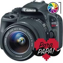 Canon Eos Rebel Sl1 100d 18-55mm 18mp Full Hd Lcd Táctil T5