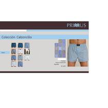 Pack De 3 Calzoncillos Primus Tela Algodon 100%