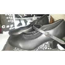 Capezio Zapatos De Jazz Tango Flamenco 3 Últimos Pares