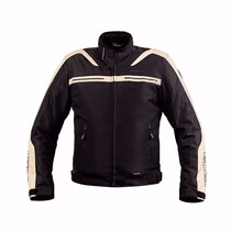 Campera Motorman Rocky Impermeable Cheleco Termico Motodelta