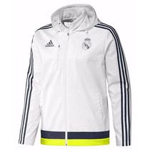 Campera Adidas Real Madrid Jacket Travel Oficial Rm