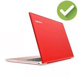 Notebook Lenovo Ideapad 320 Intel N3350 Ram 4gb 1tb Roja