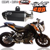 Escape Competicion Ktm Duke 200 Ira Racing En Moto Delta