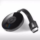 Google Chromecast 2 C/fuente 2da Generacion Tv Smart Hdmi Om