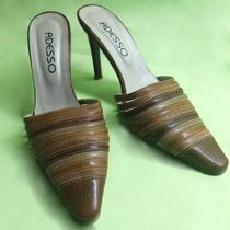 Zapatos Stilletos Sin Talón De Taco Aguja Número 38