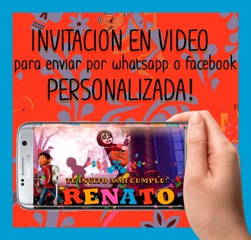 adefd32989d2c Invitaciones De Cumpleaños Online - Coco.   220