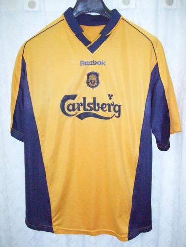 82ad950a8ea Liverpool Inglaterra Rareza Reebok Fa Cup 2001  2 Henchoz