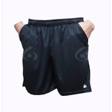 Shorts Deportivos Gol De Oro Elite Pocket Con Bolsillos Run