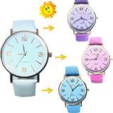 Reloj Cambia Color   X 5 Unidades Surtidos