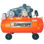 Compresor De Aire 300 Lts 7.5 Hp Correa Lusqtoff Trifasico