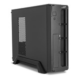 Gabinete Pc Mini Sentey Slim Fuente 450w Usb Y Audio Fan 8x8 M-atx Low Profile