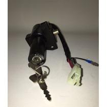 Llave Contacto Arranque +traba Yamaha Ybr 125 Ficha 3 Cables