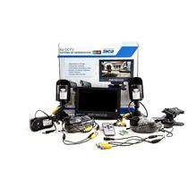Kit Cctv Monitor 7 Lcd + 2 Camaras Color Sica