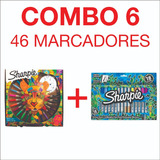 Combo 6 Sharpie Ruleta X28 + Set Sharpie X 18 (4 Metal) !!!