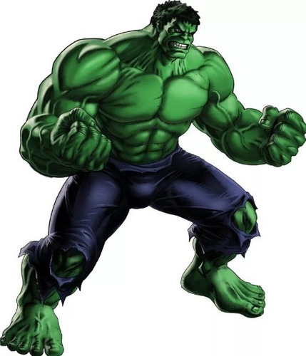 Kit Imprimible De Hulk El Hombre Increible Fiesta 3x1