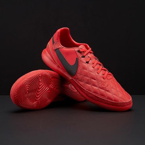 a2b671061 Botines Nike Tiempo R10 Rojos Lunarlon Futsal Profesionales
