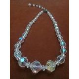 643bd2083482 Antiguo Collar De Cristal De Roca Con Certif De Originalidad