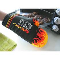 Manopla Agarradera Cocina Horno Mano Fuego Llamas
