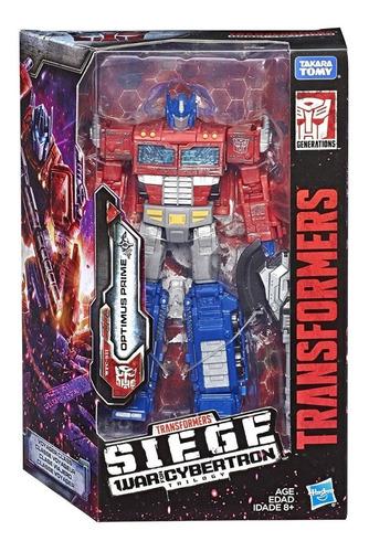 Transformers Siege Voyager Class Wfc-s11 Optimus Prime