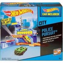 Hot Wheels Persecucion Policiaca Jugueteria Bunny Toys