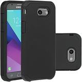 Samsung Galaxy J3 Emerge Case, Negro J3 Prime / J3 2017 / Am