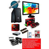 Computadora Gamer Completa Fx 8350 X8 16gb Viewsonic 22 Ssd
