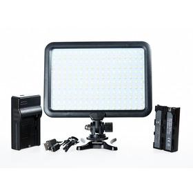 Iluminador Luz Led Triopo  P/ Video Incluye Cargador Y Bateria