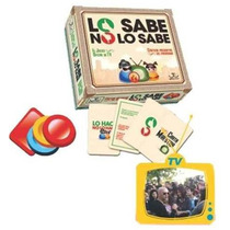 Lo Sabe No Lo Sabe Juego De Mesa Original Tv Nuevo Fichas Ce