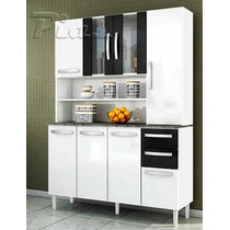 Modular Aparador Kit De Cocina Organizador - 8 Puertas!