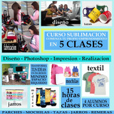 Curso Diseño Sublimacion Marketing 5 Clases Salida Laboral