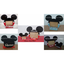Souvenir Infantil - Portaretrato Mickey Y Minnie