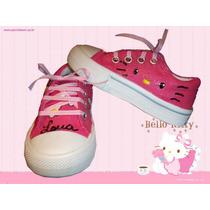 Zapas Pintadas/customizada Personalizadas Hello Kitty