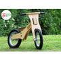 Bicicleta De Chicos De Madera Sin Pedales De 2 A 4 Años