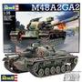M48 A2ga2 Tanque Aleman Para Armar Maqueta Revell 3236 1/35