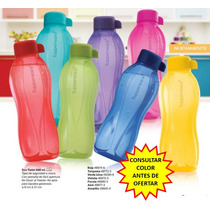 Tupperware Botella Eco Twist 500 Ml 100% Original Colores!!