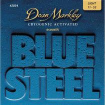 Cuerdas Guitarra Dean Markley Blue Steel 2034 Light 11-52