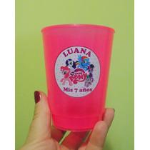 Vasos Plásticos My Little Pony Personaliz.combo X 30 Unid.