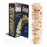 Juego Jenga Jng Top Toys Original Juego De Mesa 7344 Lelab
