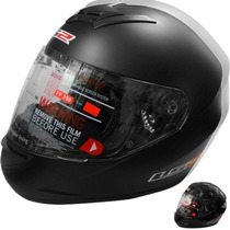 Casco Ls2 Ff350 Negro Mate Single Mono G2bikes Liniers