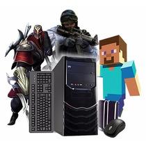 Computadora Pc Gamer Amd 4 Nucleos Hdmi 4gb Juegos Netflix