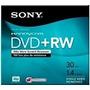 5 Discos Mini Dvd +rw Sony Handycam 30 Minutos 1.4 Gb 89-318